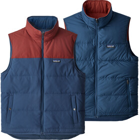 Patagonia Reversible Bivy Down Vest Men stone blue